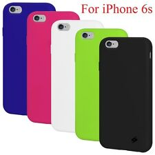 """Amzer Soft Silicone Skin Jelly Case Back Gel Cover For Apple iPhone 6s 4.7"""" inch"""