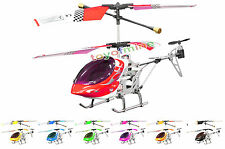 Metal 3-Channel Mini Remote Control RC Helicopter