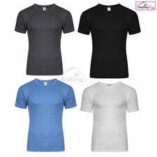 Mens Thermal Short Sleeve, T Shirt, Warm Underwear Baselayer, S M L XL XXL