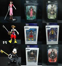 Kingdom Hearts King final fantasy Aerith Gainsborough riku sora YUFFIE KISARA