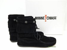 Minnetonka Moccasin Double Fringe Tramper Boot 629