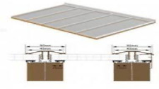 Complete Timber Supported Polycarbonate Roof Kit 3.5 Metre Long 5 Metre Wide.