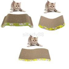 Cat Kitten Pet Rabbit Catnip Sticker Scratcher Scratch Mat Bed Board Toy Pad