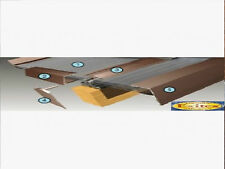 Complete Timber Supported Polycarbonate Roof Kit 5 Metre Long 7 Metre Wide.