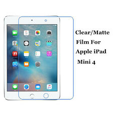 """Clear/Matte Screen Protector Film Shield Lot For Apple iPad Mini 4 7.9"""" Tablet"""