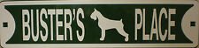 Bullmastiff Dog Custom Personalized Street Sign Pet Name Great Gift Idea!