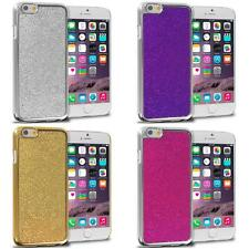 For Apple iPhone 6 (4.7) Metal Bling Glitter Shiny Hard Skin Case Cover