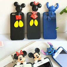 3D Cute Funny Cartoon Soft TPU Silicone Case Cover for iPhone 5S 6 6S 6S Plus