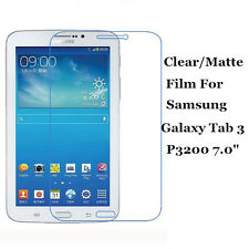 """Clear/Matte Screen Protector Film Shield Lot For Samsung Galaxy Tab 3 7.0"""" P3200"""