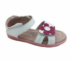 Girls Shoes ProActive Samantha White/Pink Leather Sandals Size 4-12 New