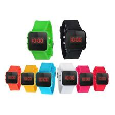 Girl Watch Boy LED Screen Digital Watches Silicone Quartz Sport Kids Wrist Watch