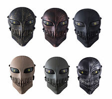Tactical Airsoft Paintball CS War Game Full Face Protective Skull Mask Cosplay