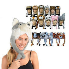 Lovely Cartoon Animal Winter Hat Fluffy Plush hat Warm Cap Perfect Gift Unisex