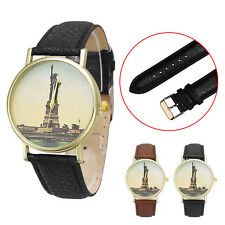 Men Watch Statue of Liberty Analog WATCH Quartz Dial Women Wrist Watch Popular