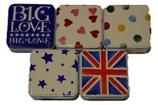 Emma Bridgewater - Square Trinket/Treat Tin - 5 Designs -Perfect Stocking Filler
