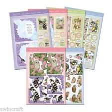 Hunkydory BIRDS OF BRITAIN Card Making Die-Cut Kits BIRD *