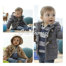 Baby Boys Xmas Top Hooded Jacket Hoodies Outwear Snowsuit Coat Christmas Clothes