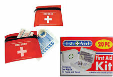 New First Aid Emergency Home Travel Kit Car Camping Plasters Scissors Pins Tape