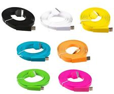 10 x 3M Flat USB Data Sync Charge 30 Pin Cable for IPhone 4 4S 3G 3GS IPod Touch