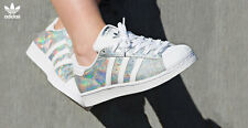 Adidas Superstar Shine Iridescent UK Sizes 4-9.5 Limited Edition