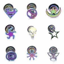 Stainless Steel Nose Lip Navel Ear Plug Ring Stud Earring Body Piercing Jewelry