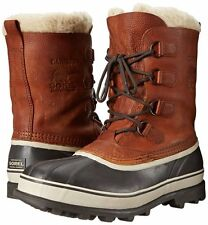 Sorel Caribou WL Mens Winter Snow Boots Leather Waterproof