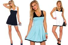 Long Top Mini Dress Tunic Top with Gathered 2 colours V Neck, 8120