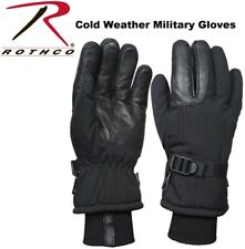 Insulated Gloves Black Waterproof & Insulated Long Cuffed Winter Gloves 3559 A