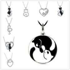 Women Aniamal Pendant Charm Bead For Chain Silver Plated Crystal Necklaces DIY