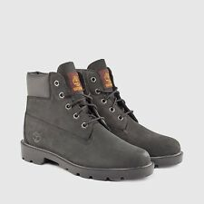 GS / KIDS TIMBERLAND 6 INCH CLASSIC *BLACK NUBUCK*  ASSORTED SIZES *NEW IN BOX*
