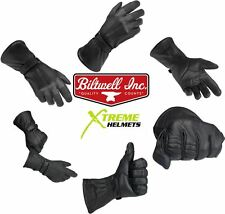 Biltwell Gauntlet Gloves Leather Motorcycle Long XS S M L XL 2XL FAST SHIP!