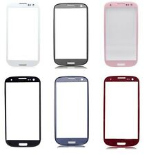 For Samsung Galaxy S3 III i9300 Quality Black Front Outer Screen Lens Glass M69