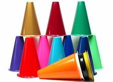 200 8 Inch Megaphones 16 Colors - Cheerleading - Decorating Homecoming Mfg USA