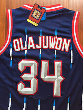 NBA Houston Rockets Hakeem Olajuwon Classic Swingman Sewn/Stitched Jersey NWT