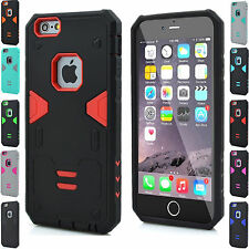 Belt Clip Cover For Apple iPhone 6 6s plus Hard Armor Stand Shockproof Case+Slim