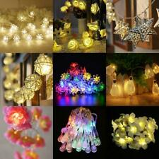 Battery Operated Wedding Party String Lamp Fairy Light Xmas Tree Diwali Decor