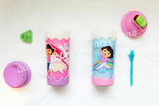 Munchkin 10oz Dora The Explorer Boots Sippy Cup Twist 'n Click Spanish Your Name