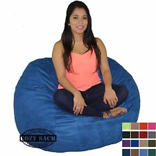 Bean Bag Chair Factory Direct 4' Medium Cozy Bean Bag Foam Filled By Cozy Sack