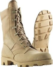 Jungle Boots Desert Tan Leather Speedlace Panama Sole Jungle Boots 5057