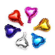 5/10/20pcs 5inch 10inch Heart Mylar Balloon Party Wedding Birthday Decor