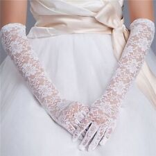 Sexy Elegant Women Long Lace Gloves Opera Wedding Party Evening Prom Costume