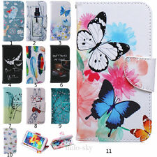 Flip Stand Cute Card Holder Wallet Leather Case Cover For Samsung Galaxy Phone