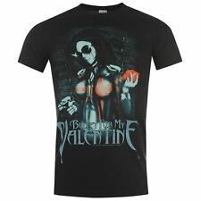 Official for My Valentine T Shirt Fashion Top Everyday Mens Gents