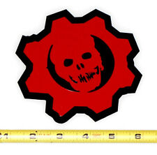 Gears of War Crimson Omen - 1 HQ Two Color Vinyl Decal! Red on Black!