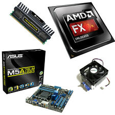 AMD FX 8370 Eight Core 4.30GHz 8GB ASUS M5A78LM-USB3 Motherboard Bundle