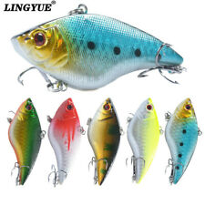 15G Sinking VIB Fishing Lures Deep Water Crankbaits Baits Hooks Tackle For Bass