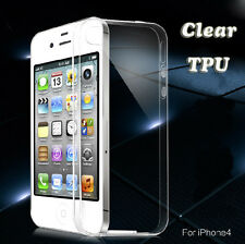 Ultra Slim Soft TPU Gel Clear Crystal Transparent Back Case Cover For CellPhone