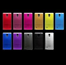 New Metal Battery Door Housing Back Cover Case For Samsung Galaxy Note 4 N9100