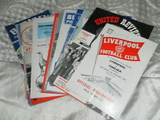 CHELSEA AWAY PROGRAMMES FROM 1961/2 SEASON CHOOSE FROM LIST