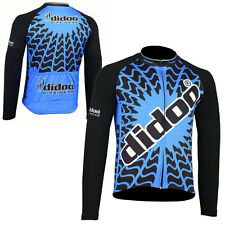 Didoo Mens Long Sleeve Riding Shirt Bike Team Racing Tops Cycling Jersey Outdoor